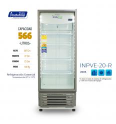 Nevera Vertical 566LTS Indufrial INPVE 20R