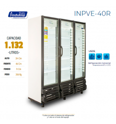 Nevera Vertical 1.132LTS...